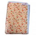 ผ้าปูที่นอน 2in1 สีส้ม