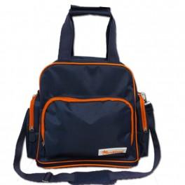 กระเป๋าใส่สัมภาระลูกอ่อนกันน้ำ , เก็บอุณหภูมิ  Diaper backpack สีกรม