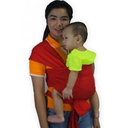 ผ้าอุ้ม Baby Wrap สีแดง