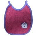 ผ้ากันเปื้อน (Baby Bib) - สีชมพู
