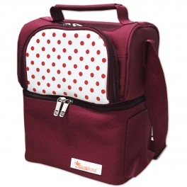 กระเป๋าเก็บความเย็น (Coolbag) - สีเลือดหมู