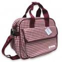 กระเป๋าเก็บอุณหภูมิ Cotton ลายสก๊อตแดง