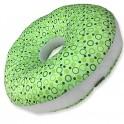 หมอนโดนัทรองก้น กันน้ำ สีเขียว